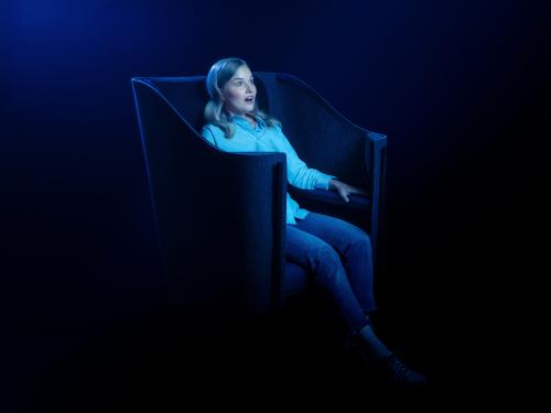 FLEXOUND Augmented Audio™ schafft eine eindringliche neue Erfahrung, die Ihre Haut das Hören übernehmen lässt