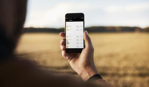 GrainSense – der Verkauf läuft an. Die erste Charge mit 30 Kornqualitätsmessgeräten wurde für den schwedischen, finnischen und baltischen Markt freigegeben