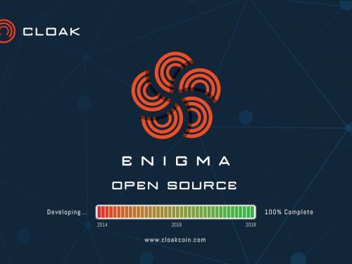 Cloak's Transaktionssystem Enigma ist Open Source – Ein Meilenstein für Datenschutz