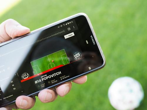 Wisesport brings automated real-time football analytics to matches and training
