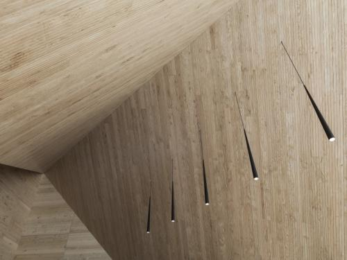 Akustikspezialist aus dem Waldviertel optimiert Raumakustik mit nachhaltiger Lösung aus Massivholz.